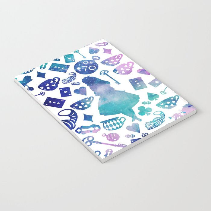 Alice in Wonderland - Galaxy W Notebook