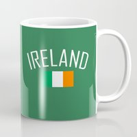 ireland Mugs featuring Ireland by Earl of Grey