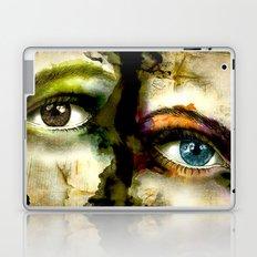 2Eyes2Faces by carographic Laptop & iPad Skin
