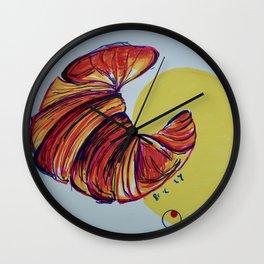 Croissant Wall Clock