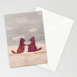 Marmots Love Stationery Cards