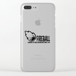Fireball - lighting up your encounters since 1974 Clear iPhone Case