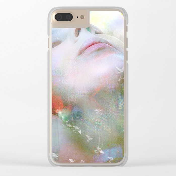 Melody of you Clear iPhone Case