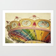 Fly So High Art Print