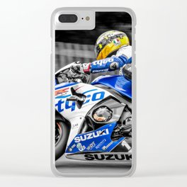 Guy Martin Clear iPhone Case