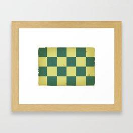 Vinatge Nautical Flag Framed Art Print
