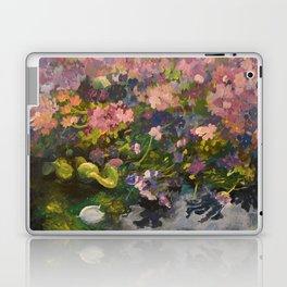 Pond with flowers Laptop & iPad Skin