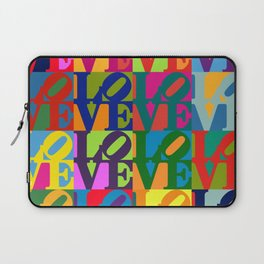 Love Pop Art Laptop Sleeve