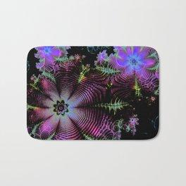 Frilly Flowers 3 Bath Mat