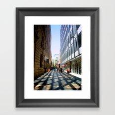 Light & Shadows Framed Art Print