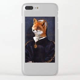Kathryn Howard Clear iPhone Case