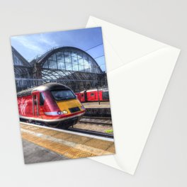Kings Cross London Trains Stationery Cards