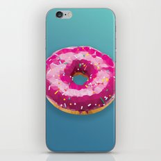 Lowpoly Donut iPhone & iPod Skin