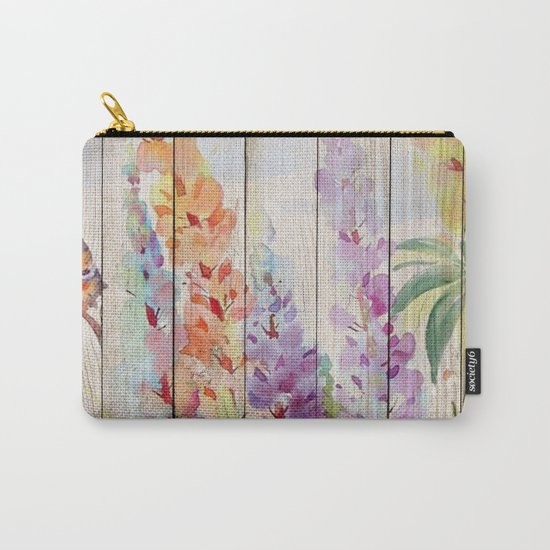 Spring on Wood 03 Carry-All Pouch