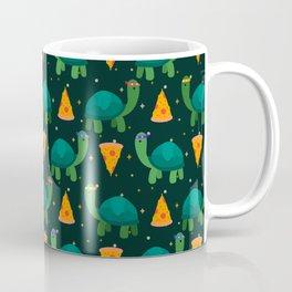 Turtles & Pizza Coffee Mug