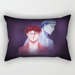 Red Dad Blue Dad Rectangular Pillow