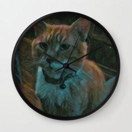 Sitting Pretty Wall Clock