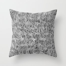 The Fabric of our string-theory life Throw Pillow