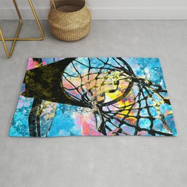 Basketball art print 149 Rug