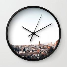 looking at Florence Wall Clock