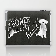 Home with Dog Laptop & iPad Skin