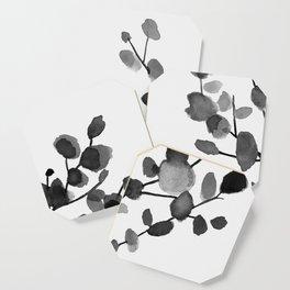 Watercolor Leaves II Coaster