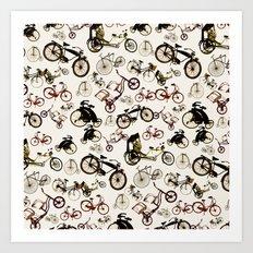 the vintage ride Art Print
