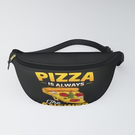 Pizza Cheese Salami Pizzaria Dough Fanny Pack