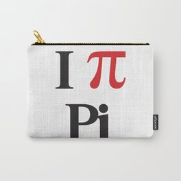 I Heart Pi Carry-All Pouch