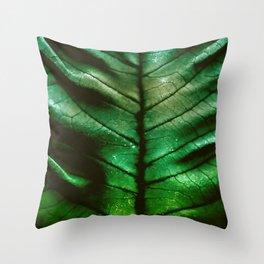 Dragon Spine Throw Pillow