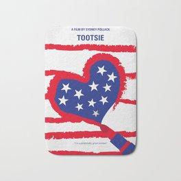 No646 My Tootsie minimal movie poster Bath Mat