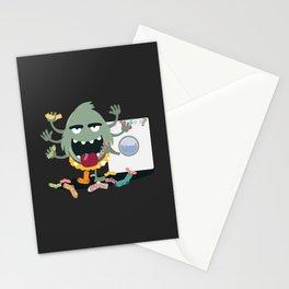 Sock Monster Stationery Cards
