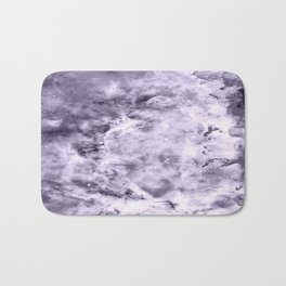 Lavender Gray Carina nEbULa Bath Mat