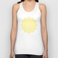 yellow pattern Tank Tops featuring yellow pattern by Artemio Studio