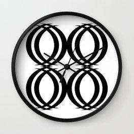 Oval Links Wall Clock