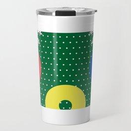 Memphis Christmas Tree Travel Mug