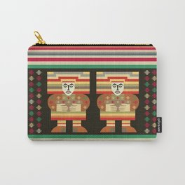 Nick's Blanket 1968 Version 2 (With Figures) Carry-All Pouch
