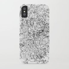Triumph Over Chaos. iPhone X Slim Case