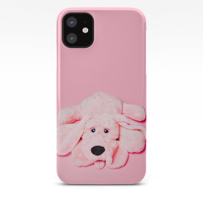 Dogs Dogs Dogs Pink Background iphone case