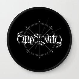 OneEighty Wall Clock