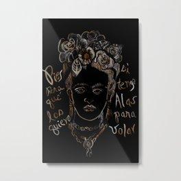 Frida 02 Metal Print