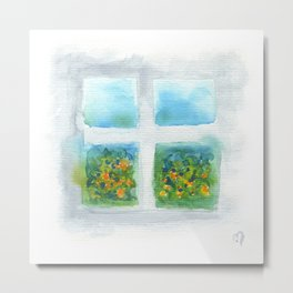 Window #5 Metal Print