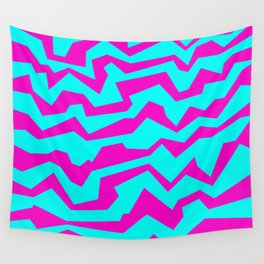Polynoise Shock New Wave Wall Tapestry