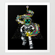 Space Madness! Art Print