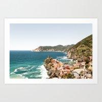 Vernazza, Cinque Terre, Italy Art Print