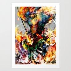 angel of something Art Print
