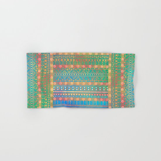 Inspired Aztec Pattern 2 Hand & Bath Towel