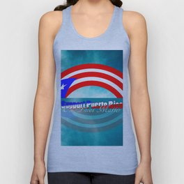 Support Puerto Rico Unisex Tank Top
