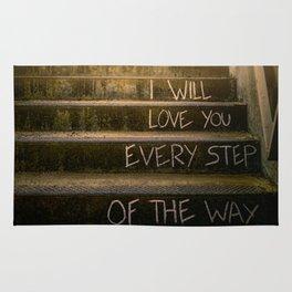 Love Steps Rug