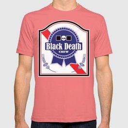 Black Death Ribbon (Color) T-shirt